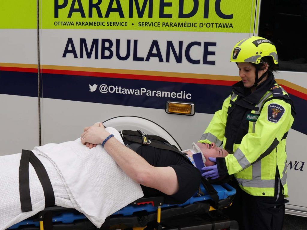 Improving transportation of trauma patients