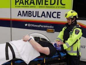 Improving transportation of trauma patients
